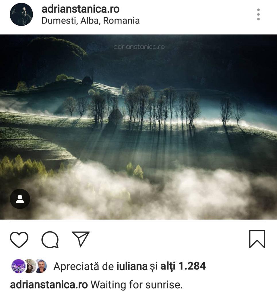 Dimensiune fotografie instagram peisaj