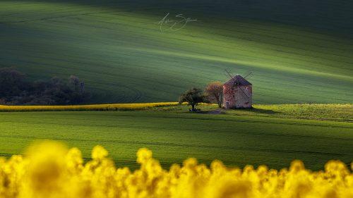 Kunkovice windmill